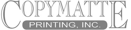 Copymatte Printing, Inc. Logo